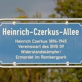 Heinrich-Czerkus-Allee in Dortmund Brackel