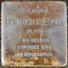 Stolperstein, Dortmund Schlosserstr. 42